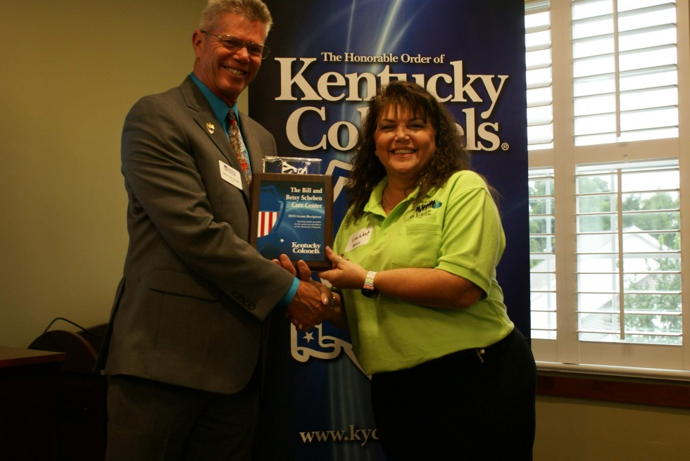 Scheben Care Center Awarded Grant From Kentucky Colonels