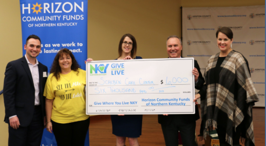 Scheben Care Center Awarded Grant From Horizon Community Funds